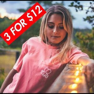 3 SHIRTS FOR $12 Comfort Colors / Save The Bees 🐝